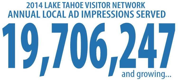 2014 Annual Impressions - Tahoe/Reno Visitor Network
