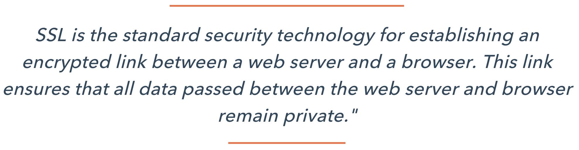 SSL Explanation