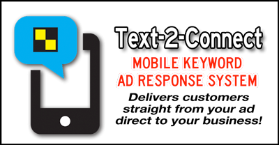 Text-2-Connect Mobile Keyword Ad Response System